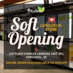 Longueuil Store Soft Opening